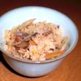 サバ缶使って炊き込みご飯