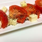 トマトとチーズのおしゃれおつまみ♡