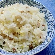 塩麹で炊いた七穀米