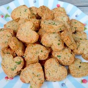 イタリアンパセリのチーズクッキー☆卵、乳製品なし