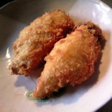 エリンギのチーズ風味フライ