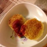 鶏ひき肉コロッケ 離乳食