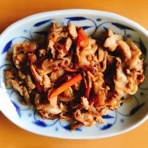 【夫婦のおつまみ】豚こま肉と玉ねぎのスタミナ炒め