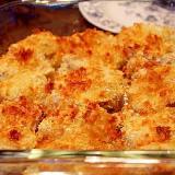 鶏肉の乾燥マッシュポテト焼き