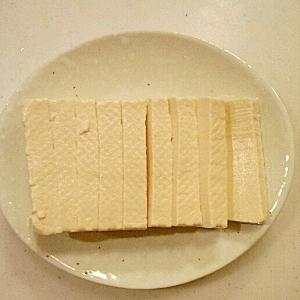 塩豆腐の作り方&食べ方アレンジいろいろ~