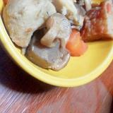 サトイモとさつま揚げの煮物