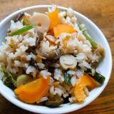 山菜炊き込みご飯
