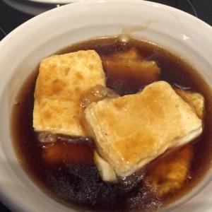 簡単 めんつゆで揚げ出し豆腐