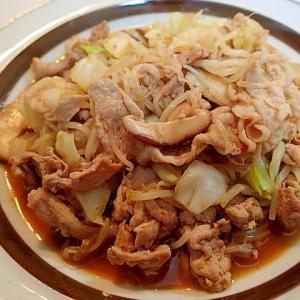 ❤焼き肉のたれと中華あじでパパッと野菜炒め❤