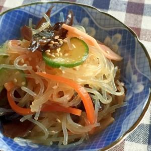 春雨の中華風サラダ