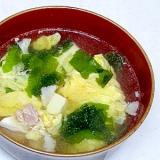 旨みたっぷり!豚の茹で汁再利用!中華風卵スープ