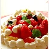 フルーツたっぷりケーキ