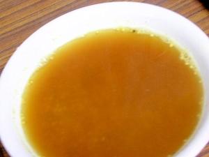 麻の実ナッツのカレースープ