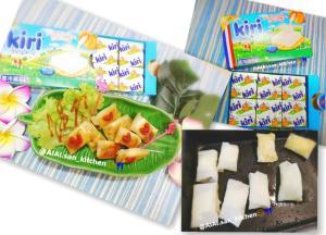 【春巻き】キリのクリームチーズで春巻き