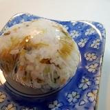 チキン入り 九州完熟発酵高菜とおかず生姜のおにぎり