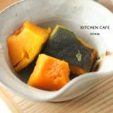 ストウブでかぼちゃの煮物