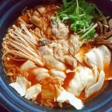 牡蠣入り☆キムチ鍋