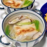 春巻きリメイク*春巻きの中華スープ*