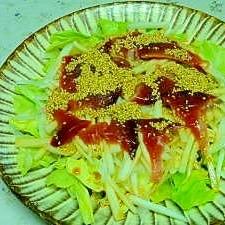 漁師さんの奥さんに習った 鰹と新たまねぎのサラダ