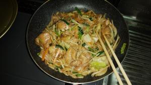 鶏ちゃん焼き(味噌味)