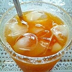 アイス☆ジンジャーオレンジティー♪
