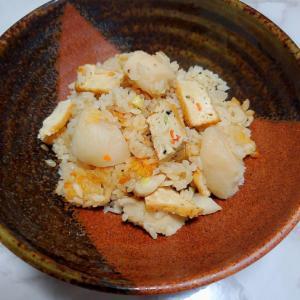 がんもと里芋の炊き込みご飯