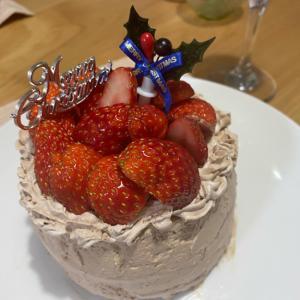 苺チョコレートケーキ
