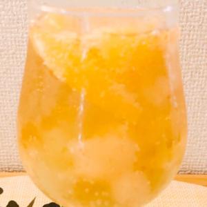 ママレードはちみつでオレンジスカッシュ