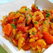 ご飯にも合う根菜のラタトゥイユ