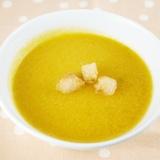 かぼちゃの和風豆乳スープ