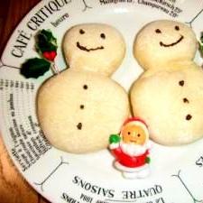 もうすぐ、クリスマスこんなパン楽しいね!