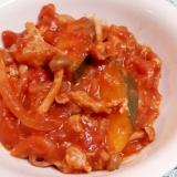 簡単ヘルシー!(^^)豚肉と野菜のトマト煮♪