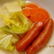 白菜のポトフ