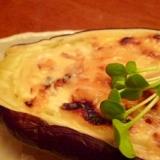 レンジで時短☆米なすの白味噌マヨネーズ焼き