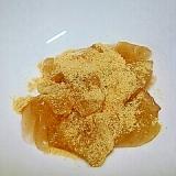 糖質制限!サイリウムでわらび餅❤食物繊維もタップリ