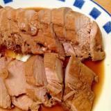 フライパンで豚ヒレの焼豚