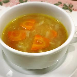 にんじん入りオニオンスープ☆とろとろ甘~いスープ
