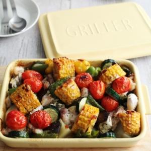 グリラーで 彩り野菜のグリル焼き