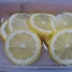 スポーツには☆レモンの砂糖漬け