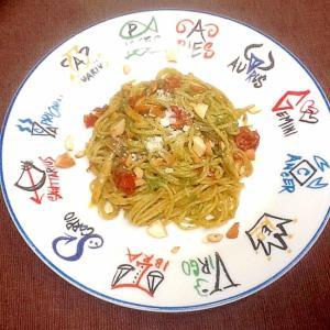 ミニトマトとバジルソースの冷製カッペリーニ