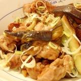 ご飯がすすむ★豚肉となすの炒め煮