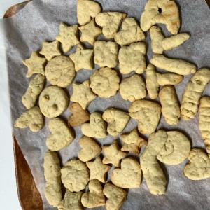 オリーブオイルで簡単サクサククッキー