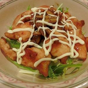 鶏ごぼう丼