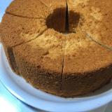米粉の蜂蜜ゆずシフォンケーキ