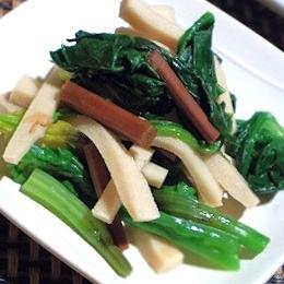 簡単ヘルシー、わらびと高野豆腐、ほうれん草の和え物