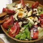 見た目豪華な簡単サラダ