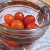 ♪ミニトマトの保存法♪お酢★塩コショウ★オリーブ油