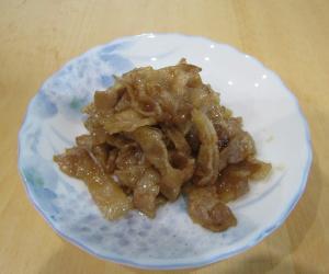ご飯がすすむ!豚肉の甘辛炒め