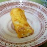 卵1個で作るツナ入り厚焼き玉子