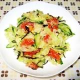 塩こんぶde簡単サラダ